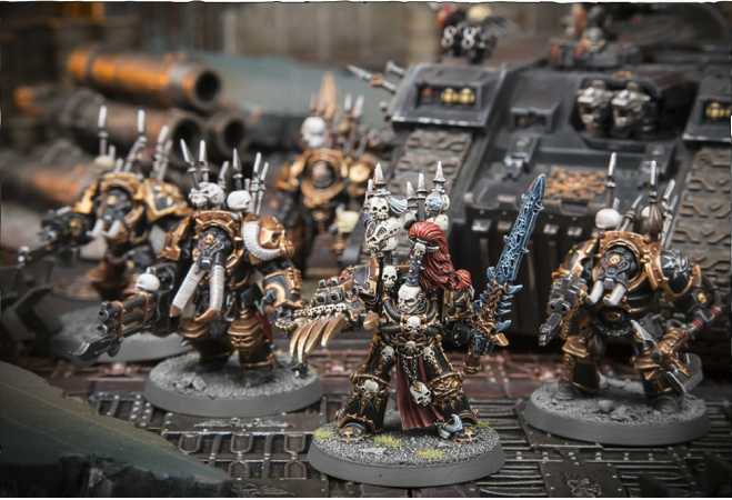 THE BRINGERS OF DESPAIR FORMATION: Abaddon the Despoiler, 1 unit of Chaos Terminators