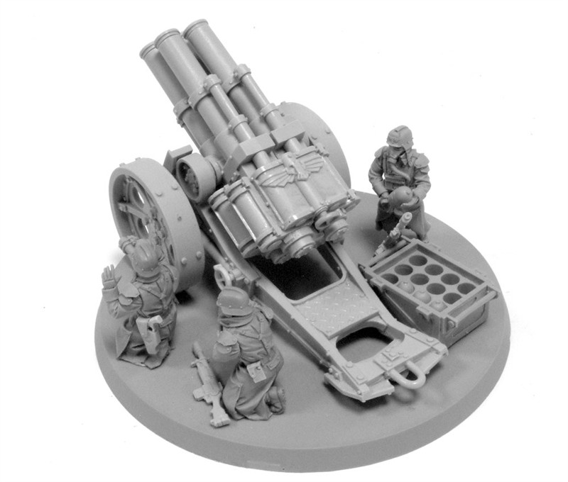 Артиллерия от FW Quad Launcher Крига