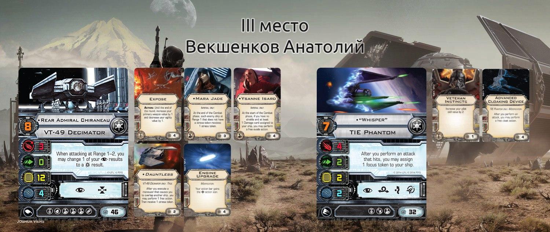 Третье Место – Анатолий Векшенков