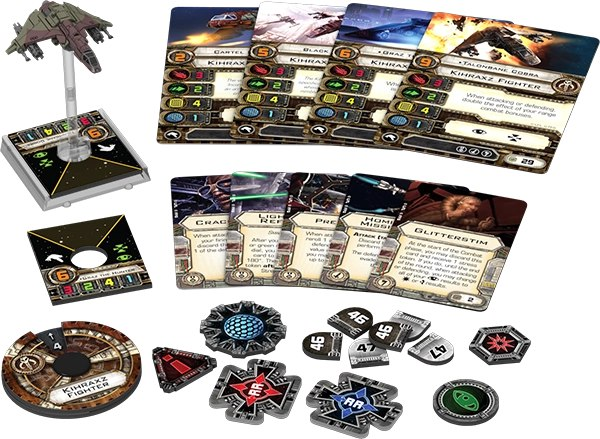 Kihraxz starfighter expansion pack