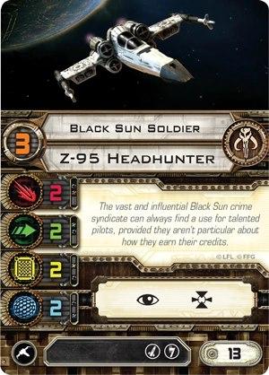 Карта пилота Z-95 Headhunter