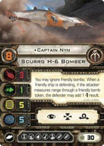 Карта пилота Scurrg H-6 Bomber