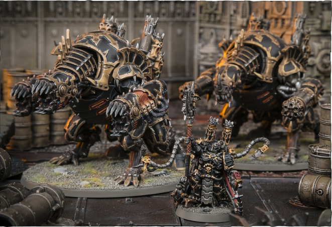 DAEMON ENGINE PACK FORMATION: • 1 Warpsmith • 2 ForgePends or MaulerPends (in any combination)