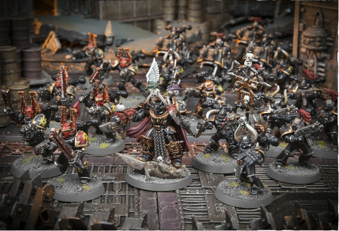 THE HOUNDS OF ABADDON FORMATION: 1 Chaos Lord, 1-3 units of Khorne Berzerkers, 1-3 units of Chaos Space Marines, 1-3 units of Raptors, Warp Talons or Chaos Bikers (in any combination)
