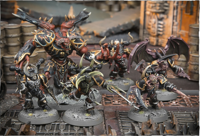 THE TORMENTED FORMATION: 1 Daemon Prince, 2-5 units of Possessed