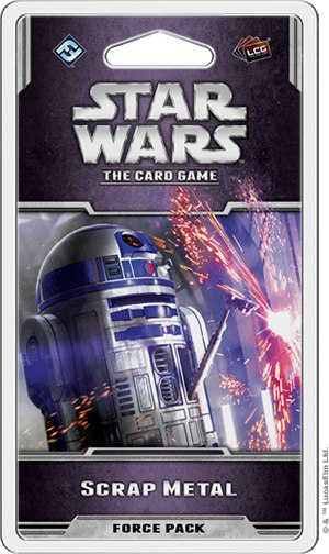 Дополнение Scrap Metal для Star Wars: The Card Game
