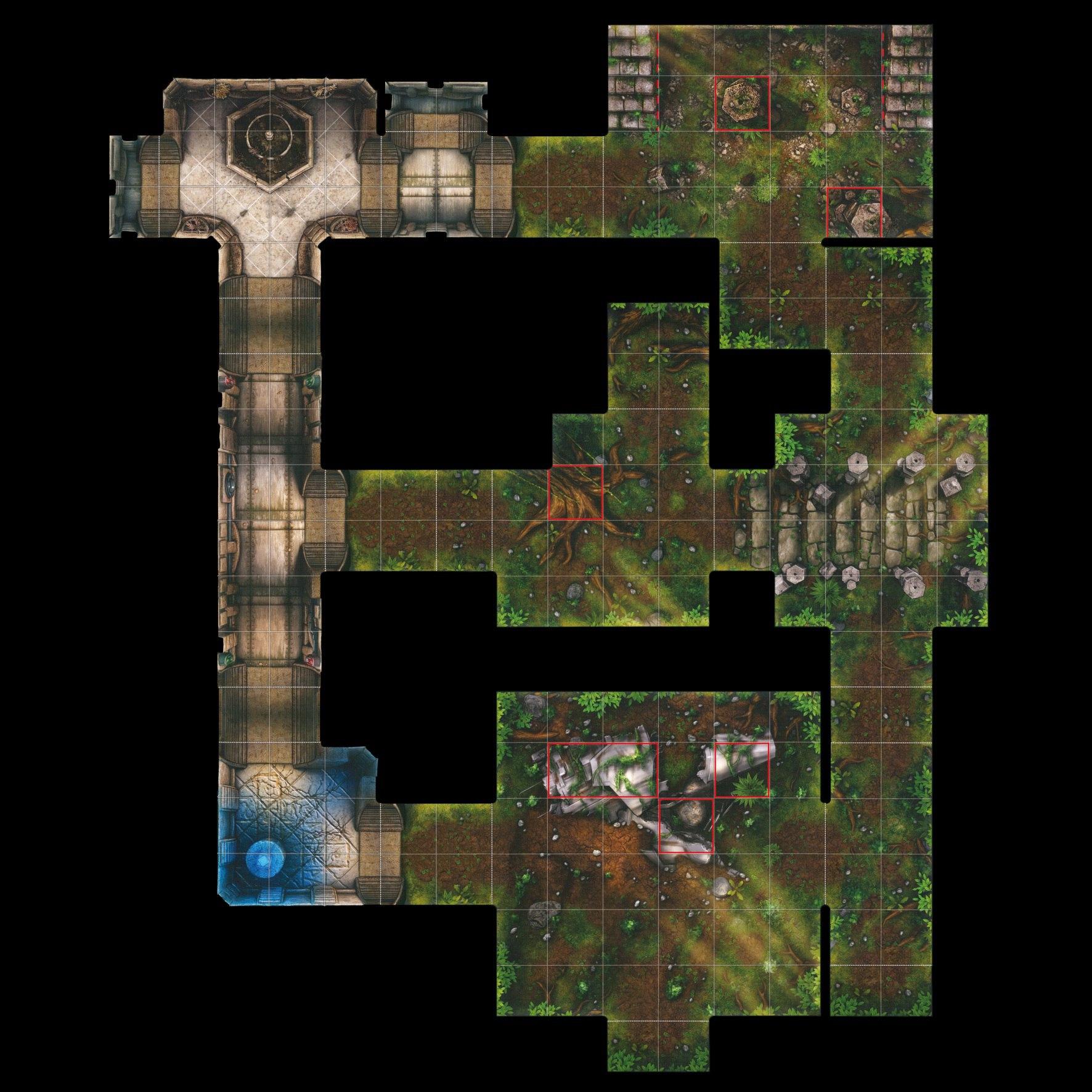 polya-k-imperial-assault-Поле с картой из дополнения с вейдером