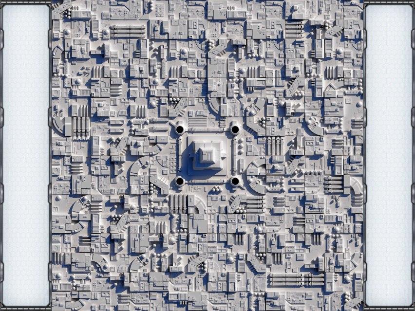 zvezda_smerti Поле для X-Wing с полями для печати