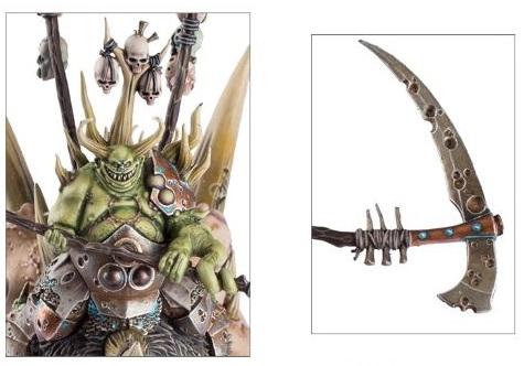 Bloab Rotspawned, Chaos Sorcerer of Nurgle