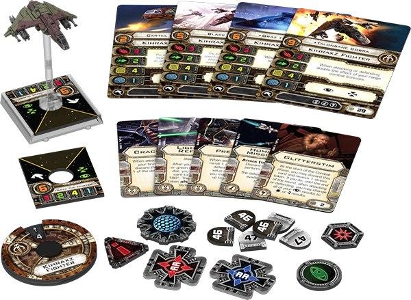 Kihraxz starfighter expansion pack