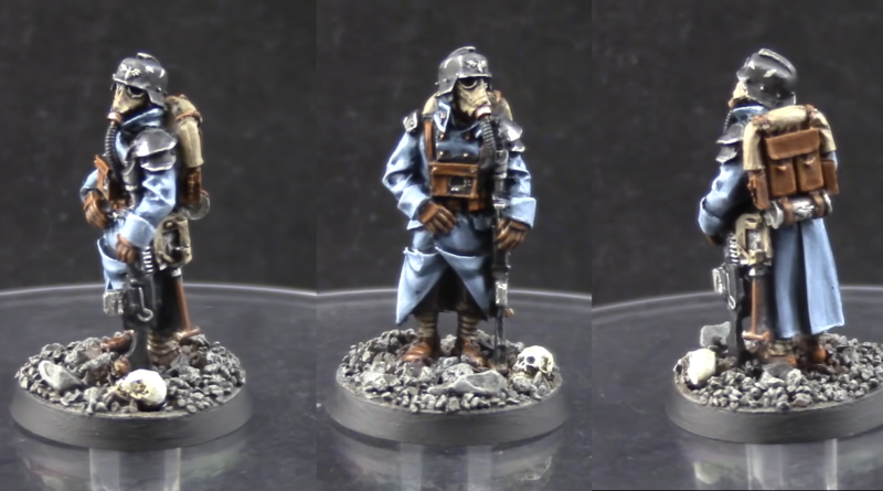 How to paint Death Korps of Krieg troopers final